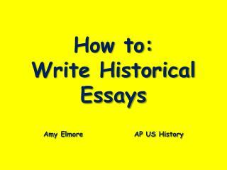 Compare-Contrast Essay Thesis & Topic Sentence Examples